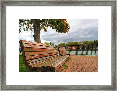 Framed Print featuring the photograph Awaiting by Michael Frank Jr