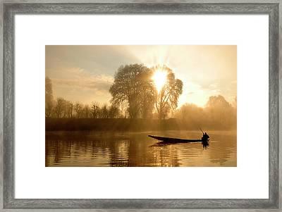 Awakening   (kashmir,india) Framed Print by PKG Photography