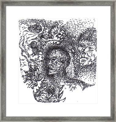 Awakening Framed Print by Charles Kabrich