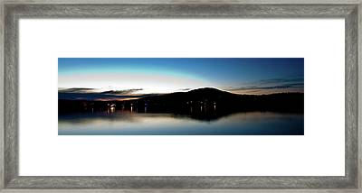 Awanadjo Across The Water Framed Print