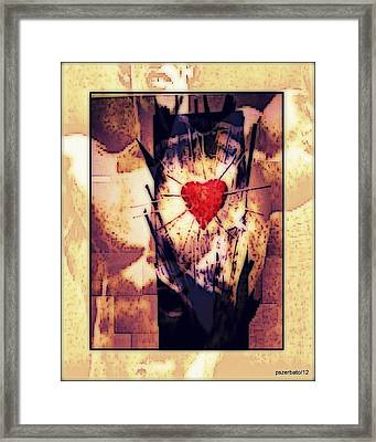 Awareness In Potential State Framed Print