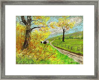 Awesome Autumn Framed Print