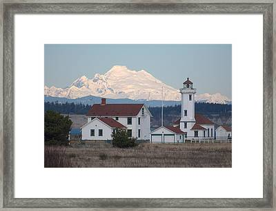 Awesome View Framed Print