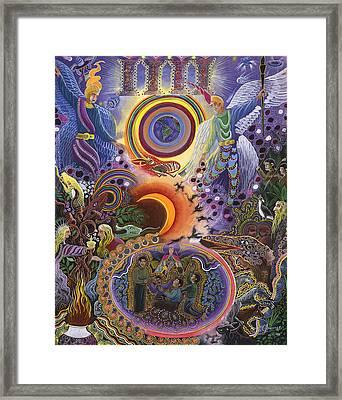 Ayahuasca Raura  Framed Print