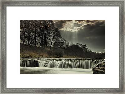 Aysgarth Falls Yorkshire England Framed Print by John Short