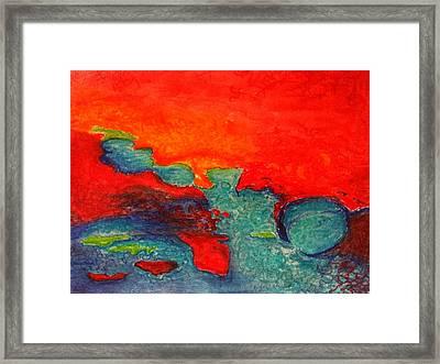 Azar Framed Print