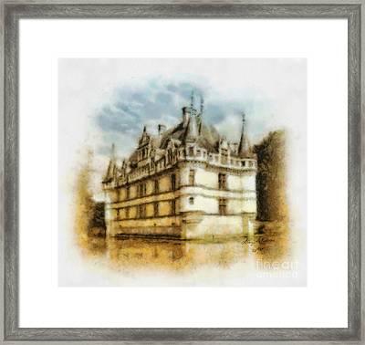 Azay Le Rideau Framed Print by Mo T