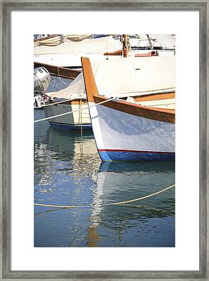 Azure Waters Framed Print