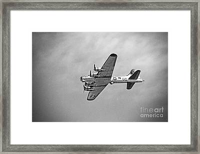B-17 Bomber - Dust And Scratch Framed Print