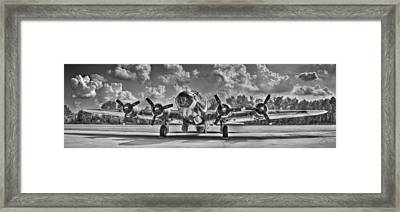 B-17 Framed Print by Williams-Cairns Photography LLC