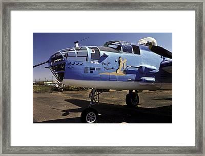 B-25 Pacific Princess Framed Print by Joe  Palermo