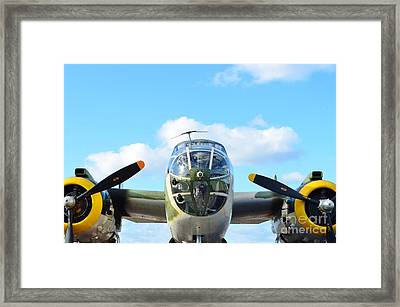 B-25j Killer B Framed Print by Lynda Dawson-Youngclaus