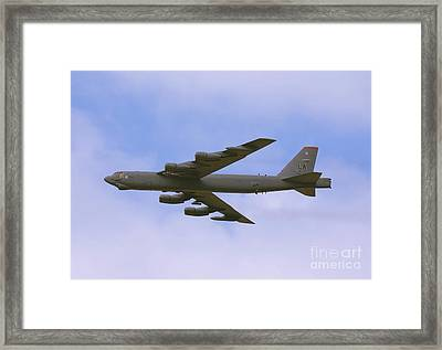 B-52 In Flight Framed Print