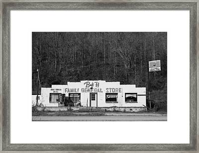 B And H Store Framed Print