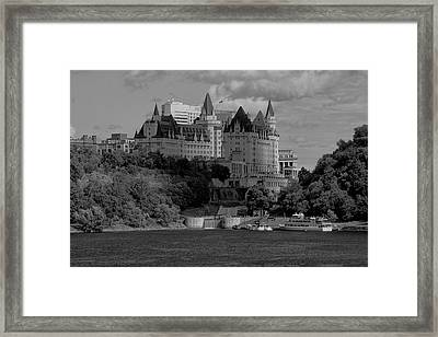 Framed Print featuring the photograph B And W by Josef Pittner