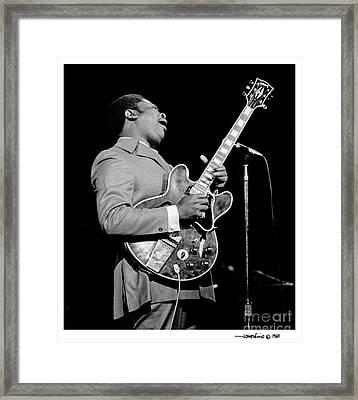 B. B. King 2 Framed Print