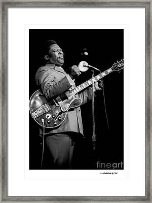B. B. King 3 Framed Print