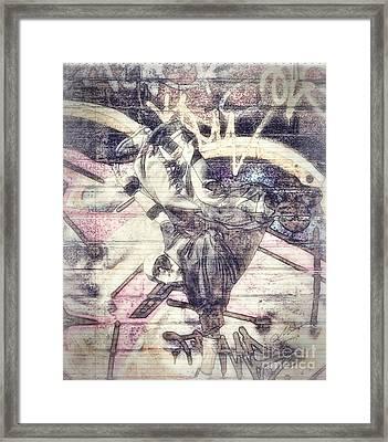 B Boy Framed Print by Mo T