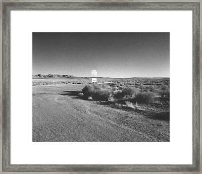 B-j Circle Road Framed Print by Jan W Faul