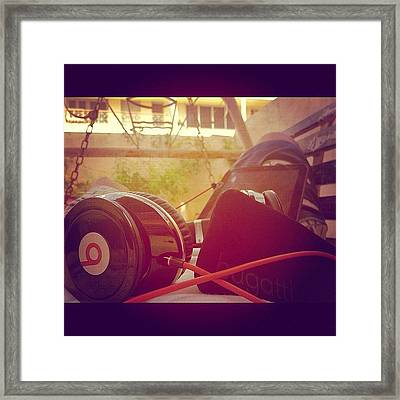#b #trance #music #photooftheday #best Framed Print