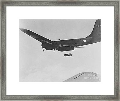 B17 Flying Fortress Bomber Framed Print by Padre Art