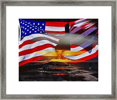 B2 Nuclear Power Framed Print