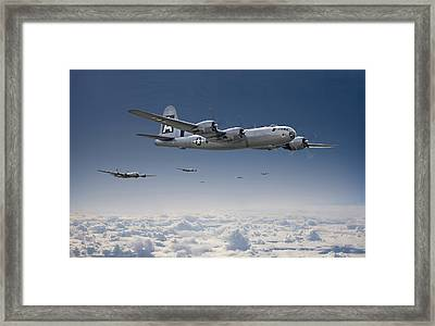 B29 - Superfortress Framed Print by Pat Speirs