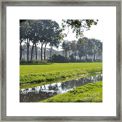 Framed Print featuring the photograph Baarschot Picture by Nop Briex