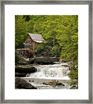 Babcock Mill Framed Print