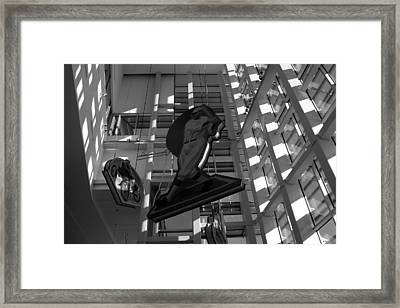 Babes Big Hit Framed Print by David Lee Thompson