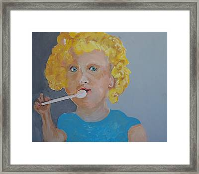 Baby Doll Framed Print by Jay Manne-Crusoe