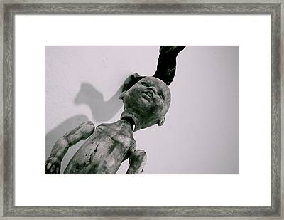 Baby Doll Framed Print by Thomas Brown