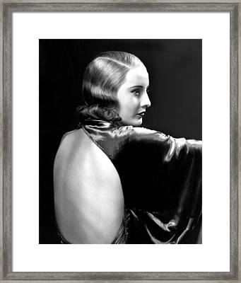 Baby Face, Barbara Stanwyck, 1933 Framed Print by Everett
