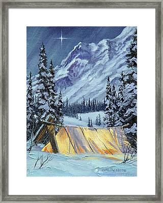 Baby Its Cold Outside Framed Print by Kurt Jacobson