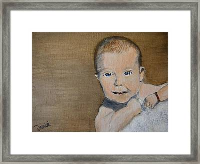 Baby Jake Framed Print