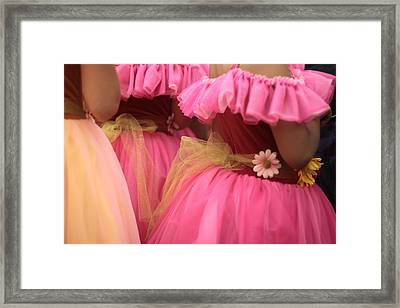 Baby Tutus Framed Print by Denice Breaux