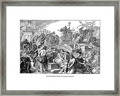 Babylonian Captivity Framed Print by Granger
