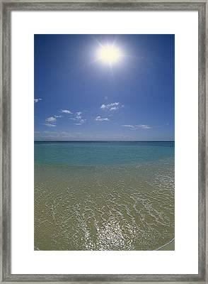 Bacardi Beach Framed Print by Konrad Wothe