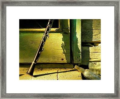 Back Again Framed Print