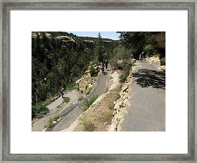 Back And Forth Framed Print by Feva  Fotos