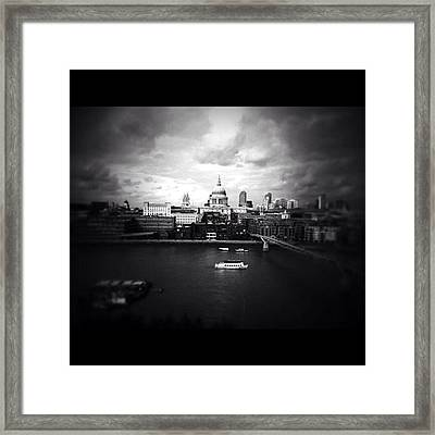 Back In London Framed Print by Ritchie Garrod