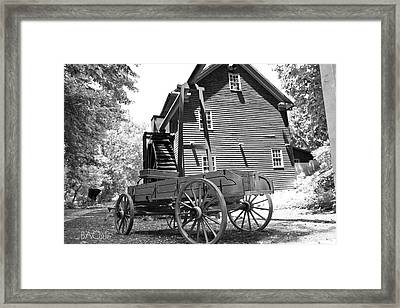 Back In The Days Framed Print by Betsy Knapp
