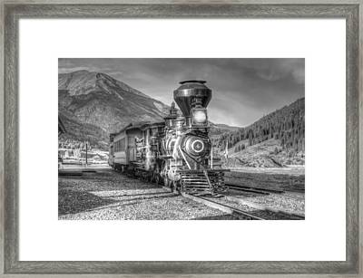 Back In Time Framed Print by Ken Smith