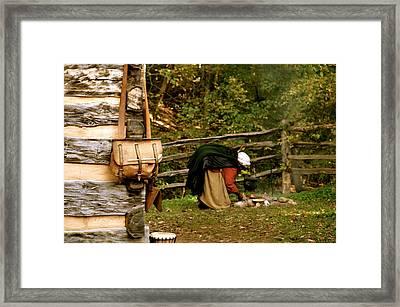 Back In Time Framed Print by Staci-Jill Burnley