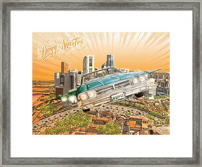 Back In Town Framed Print by Tuan HollaBack