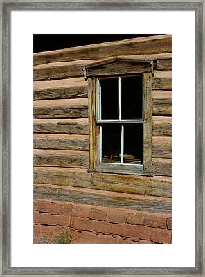 Framed Print featuring the photograph Back Into The Past by Vicki Pelham