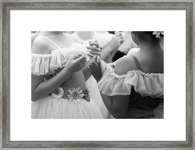 Back Stage Framed Print by Denice Breaux