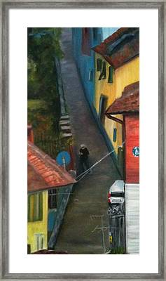 Back Street  Framed Print by Betty Pimm