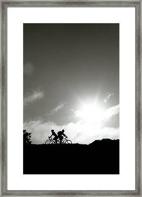 Back To Back Framed Print