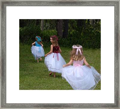 Back To Fairyland Framed Print by Claire Pridgeon